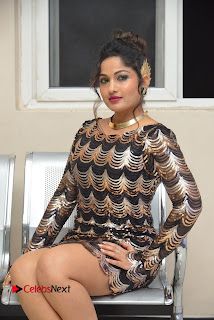 Actress Madhavi Latha Pictures in Short Dress at On Mona Birthday Premiere 0038