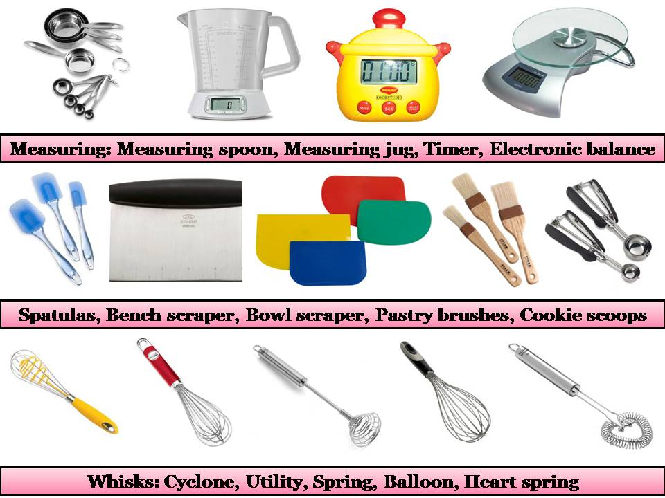 Baking Utensils Names | www.pixshark.com - Images ...