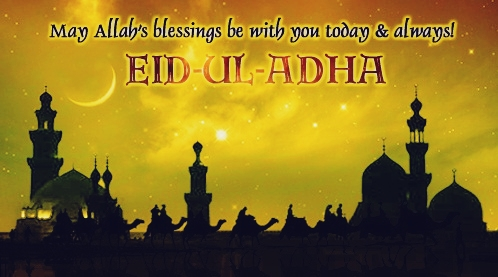 Happy Eid-Ul-Adha-Mubarak 2019 Wishes Greetings Messages