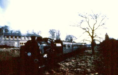Special leaving Fort Brockhurst station