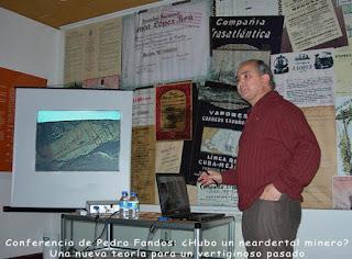 Exposición de Grucomi en Bustiello. Coleccionismo minero
