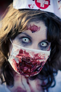 Best Halloween Zombie Costumes Make Up Ideas For Girl Nurse