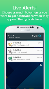 PokéAlert - Live Go Alerts!