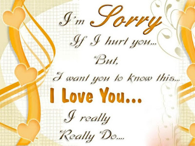 Sorry Quote Imges For Lover