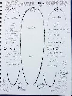 Custom Surfboards and art San Clemente California