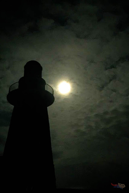 Lighthouse silhouette photo - Batanes