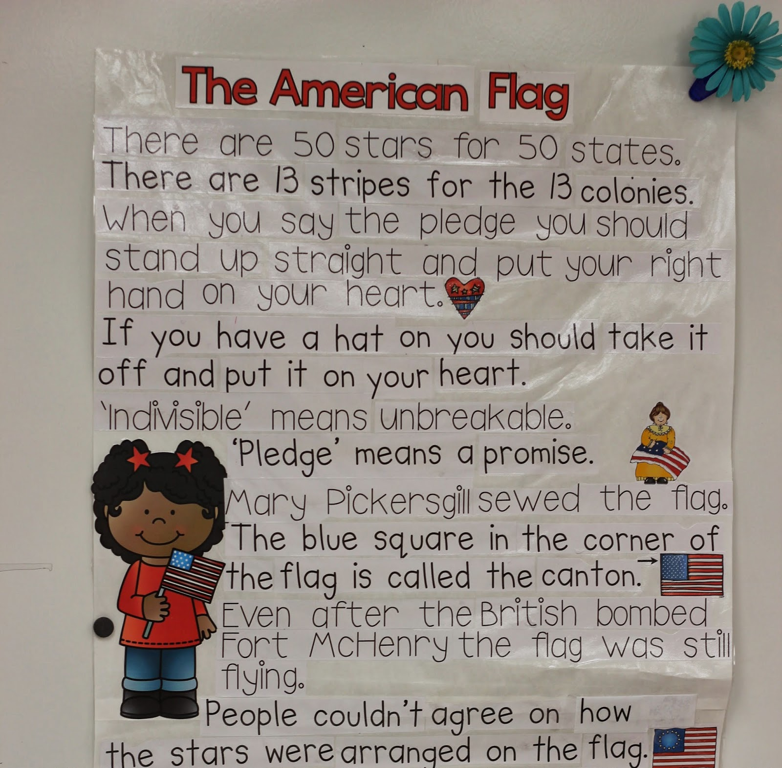 When We Wred Up Learning About The American Flag Students Added Their New Knowledge Into All America Nonfiction Books