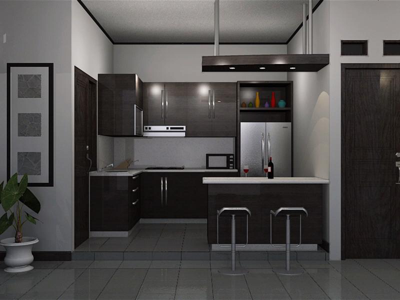 Desain Dapur  Minimalis berlokasi di bandung Rumah Desain