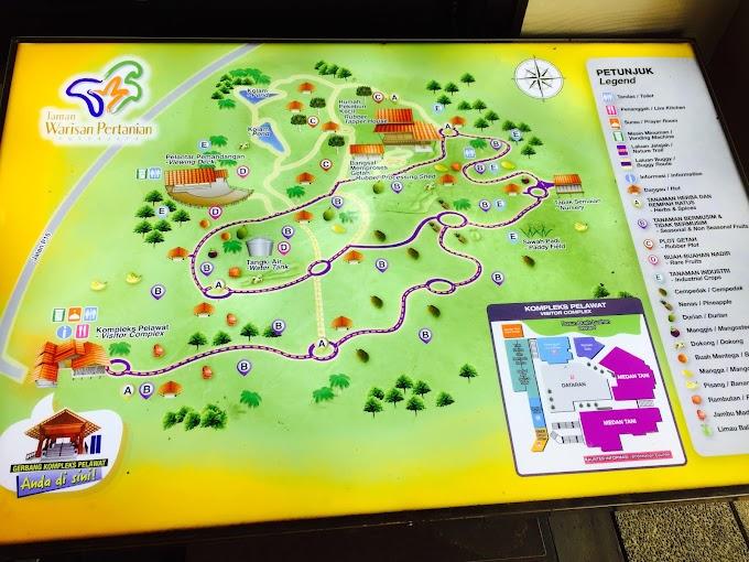 Taman Warisan Pertanian Putrajaya Tarikan Utama Pelancong