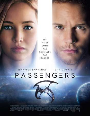 Passengers 2016 Dual Audio Hindi ORG 300MB BluRay 480p ESubs