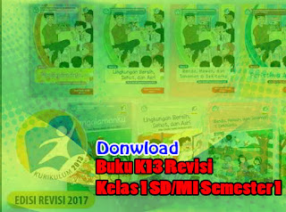 Download Gratis Buku K13 Revisi 2017 Kelas 1 SD/MI Semester 2