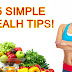 45 best health tips ever