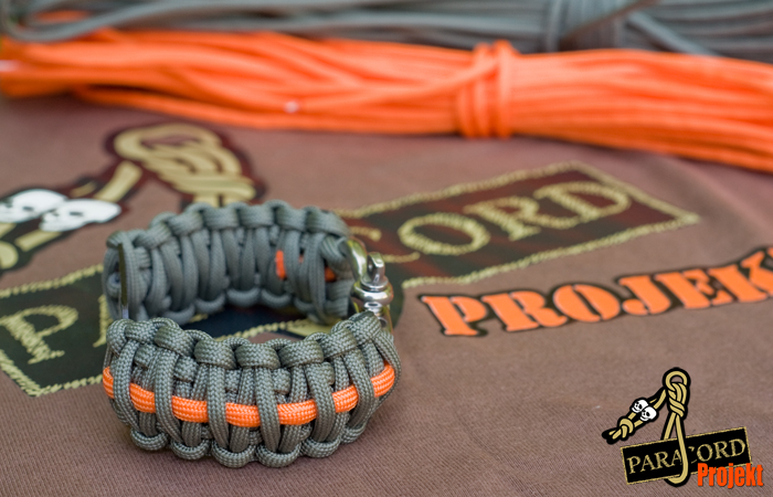 Bransoletka King Cobra z nieśmiertelnikiem i szeklą regulowaną