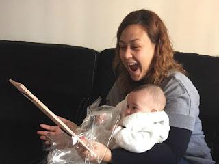 entrega cuadro personalizado, cuadro para bebe