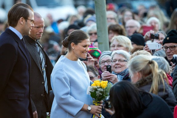 Crown Princess Victoria of Sweden and Prince Daniel of Sweden visit Varmland