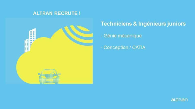 Altran recrute des Ingénieurs et Techniciens Débutants en Génie Mécanique (Casablanca) – توظيف عدة مناصب