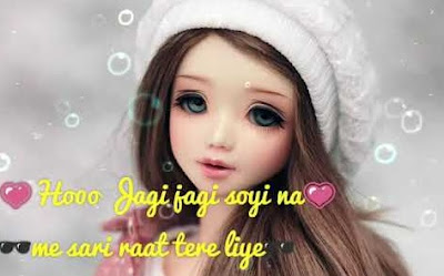 Cute status for girl in Hindi 2019