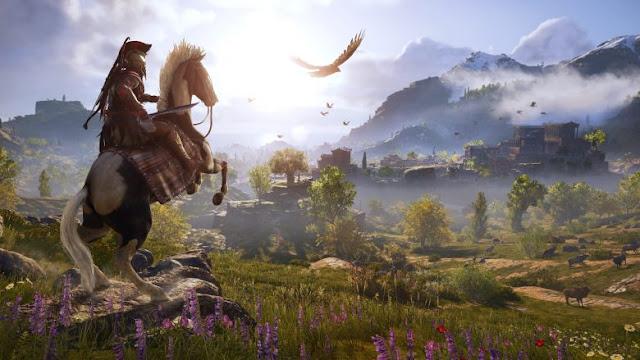لنشاهد قرابة الساعة الكاملة من طريقة اللعب في Assassin's Creed Odyssey و أجواء رائعة لعالمها …
