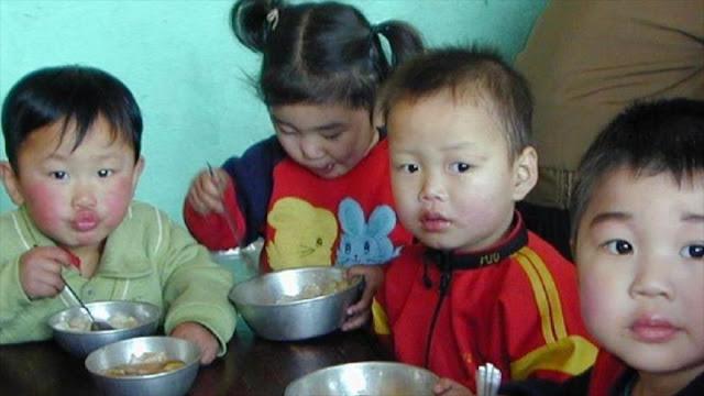 ONU suspende misión alimentaria para 190.000 niños norcoreanos