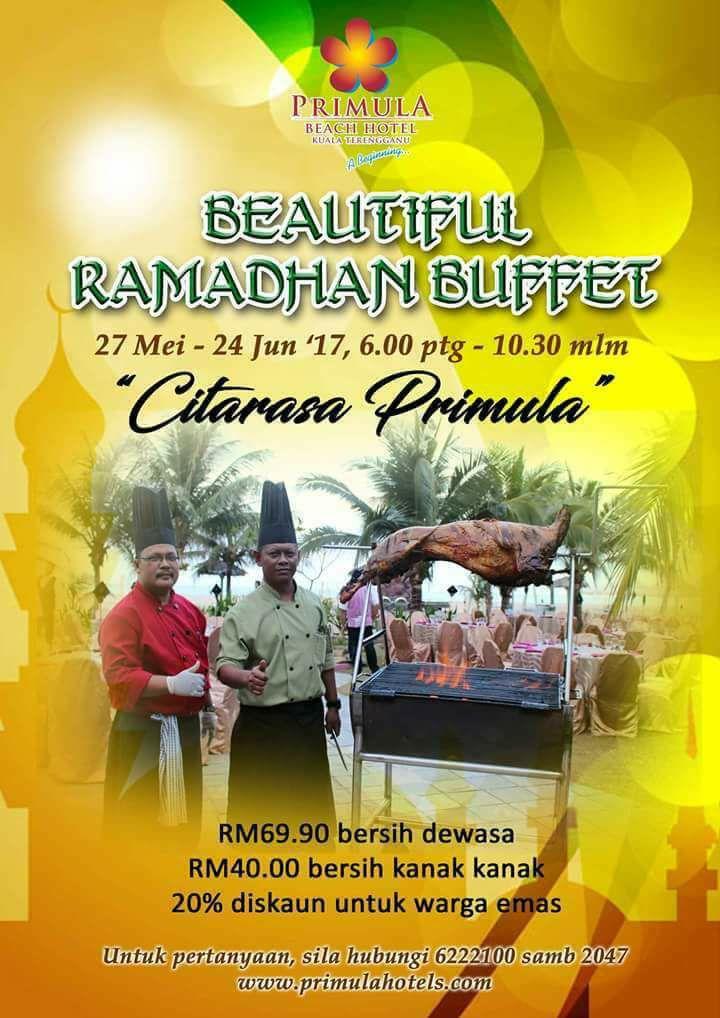 buffet ramadhan primula beach hotel