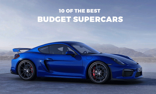 Top 10 Cheapest New Supercars