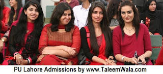 Admissions Open in Punjab University College of Pharmacy - Lahore