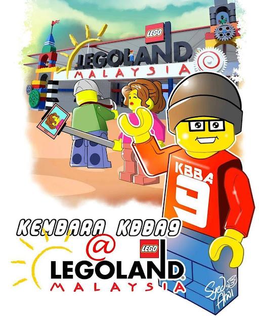 Kembara KBBA9 ke Legoland Malaysia