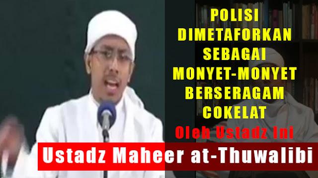 """Geram Dengan Komentar Ustadz Yang Bilang """"Gerombolan Monyet Berseragam Bencong"""" Terkait Kerusuhan di Mako Brimob, Begini Tanggapan Menohok Kapolres Tangerang.."""