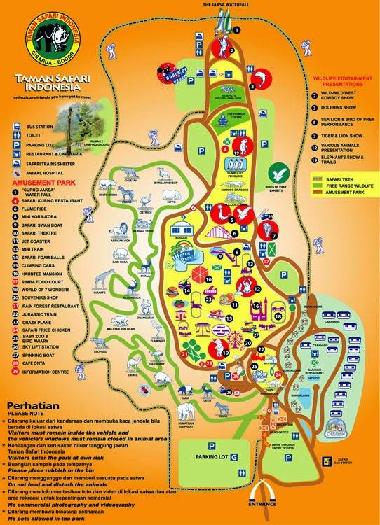 Peta Safari