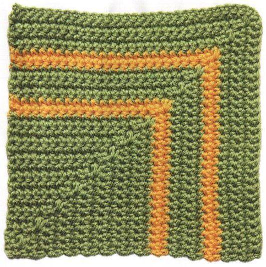 Patrón #1602: Parque Soleado a Crochet
