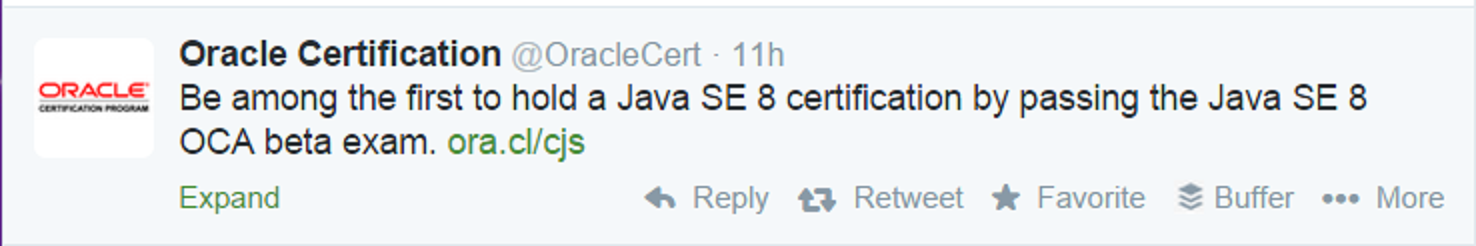How to prepare Java SE 8 Certification Oracle