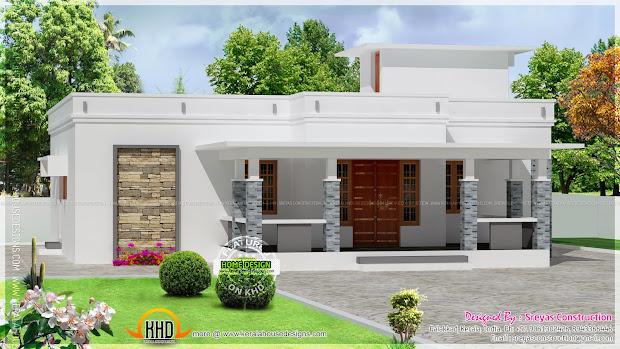 Small Kerala House Elevation