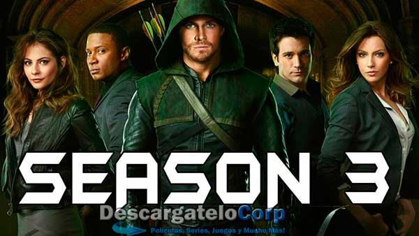 Arrow Temporada 3 HD Latino