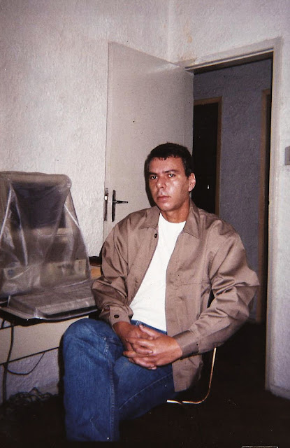 Tércio Moraes, julho de 1999. Acervo da família.