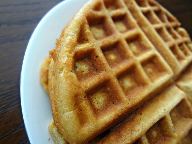 Crispy {Healthier} Waffles