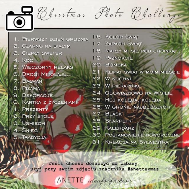 Zmiany na blogu i Christmas Challenge