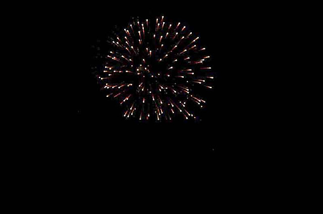 fireworks, Kin Town, Okinawa