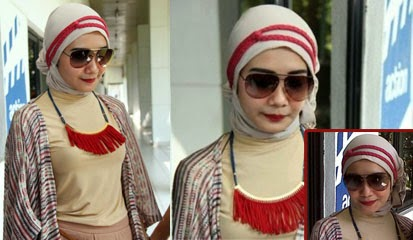 Model Busana Artis Cantik Zaskia Sungkar