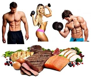 Dieta alta proteínas gimnasio masa muscular