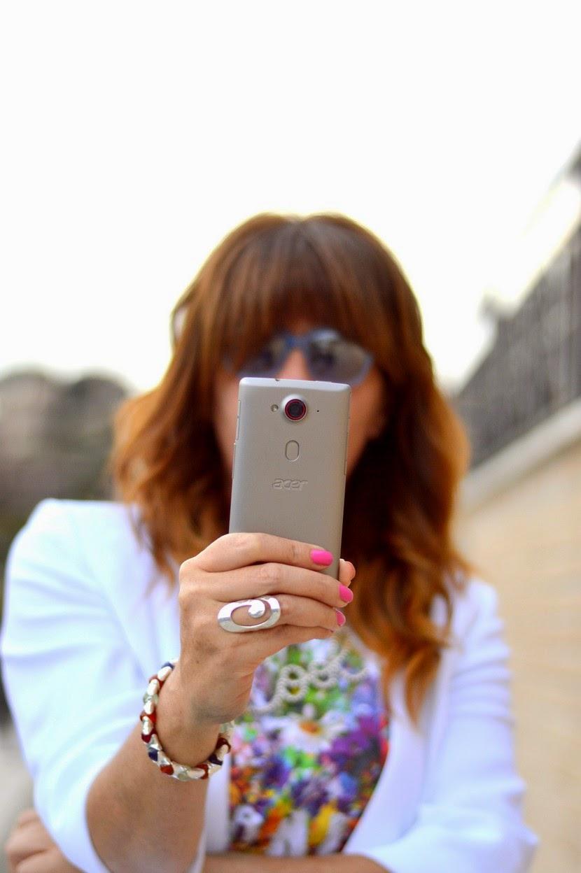il mio nuovo smartphone Acer Liquid E3 all'opera