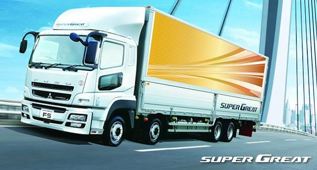 super great mitsubishi truk fuso
