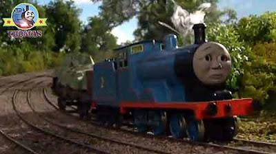 Thomas Tank Edward The Great Railway Blue Train Engine And