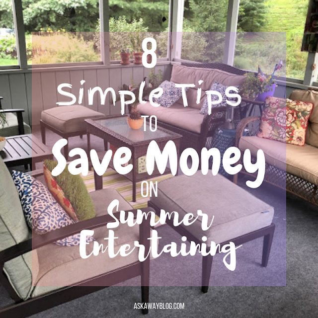 8 Simple Tips to Save Money on Summer Entertaining