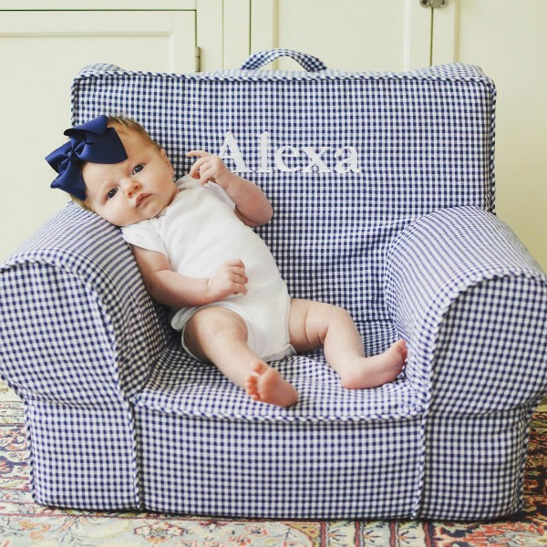 Gingham My First Anywhere Chair