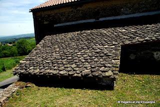 Toit en Lauzes d'Auvergne.