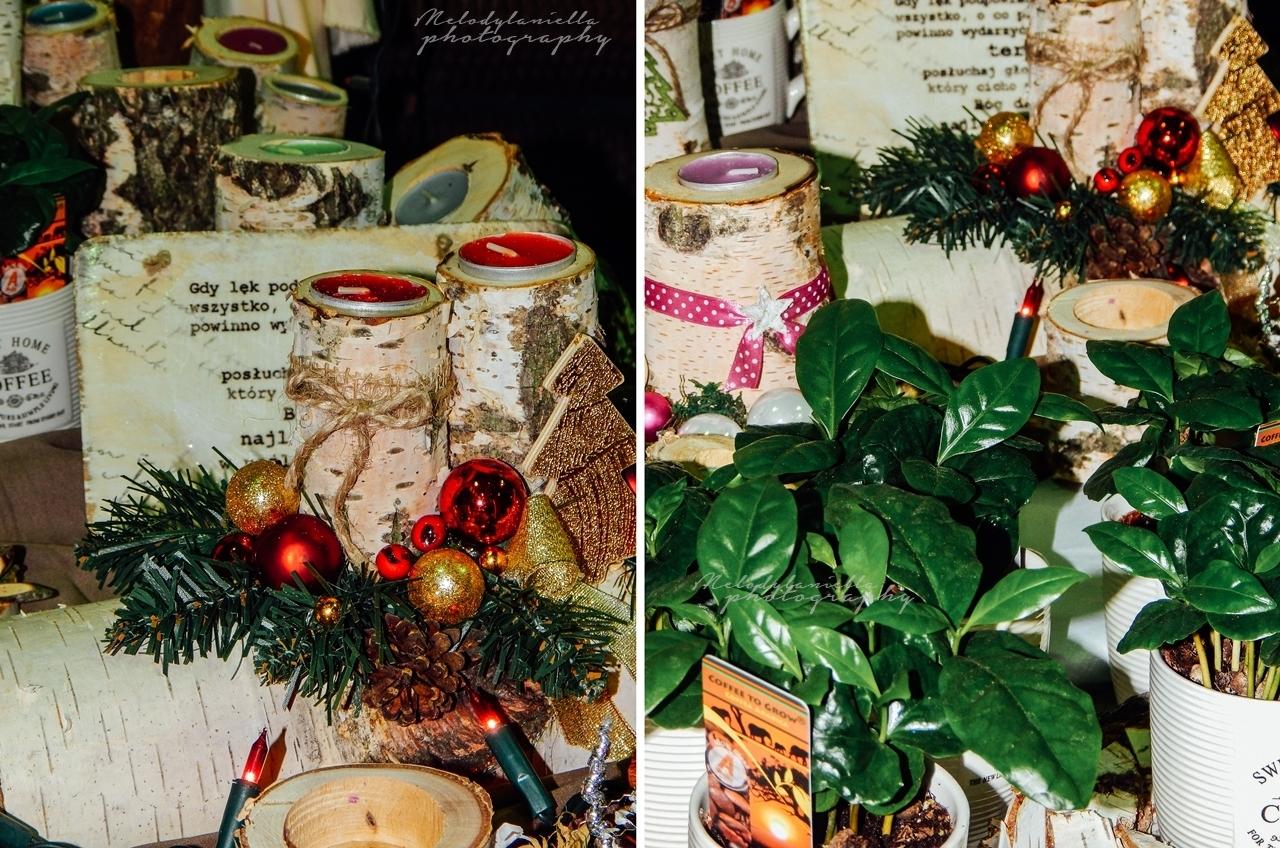 pomysł na świąteczny prezent Boże Narodzenie ręcznie robione świeczniki bombki