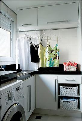 Ide Desain Interior Ruang Cuci Minimalis Multifungsi