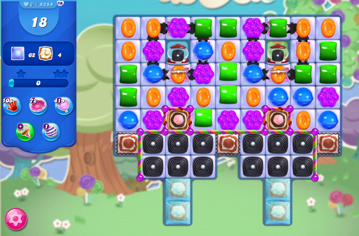 Candy Crush Saga level 5255