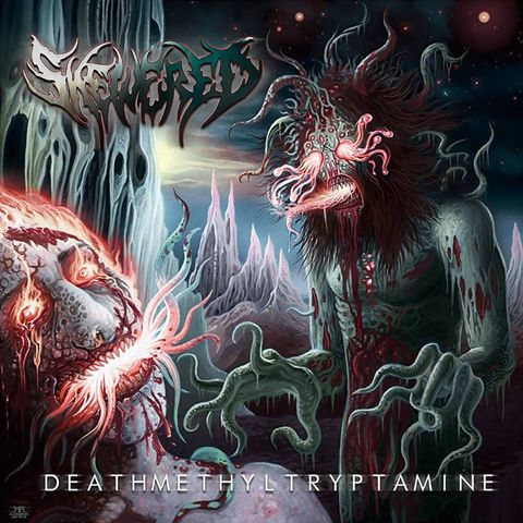 Detail from Skewered New Album, Deathmethyltryptamine, Detail from Skewered New Album Deathmethyltryptamine