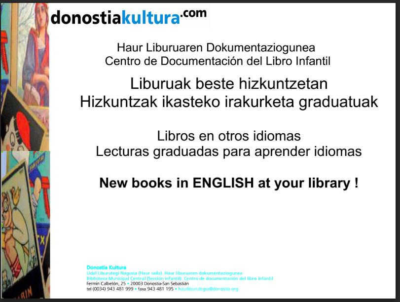 ESKOLA LIBURUTEGIAK: Libros En